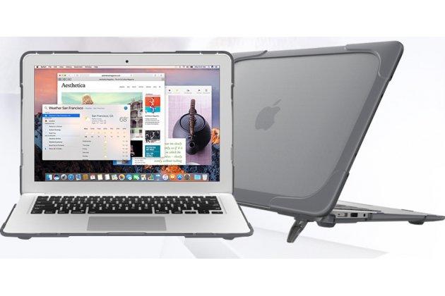 Противоударный усиленный ударопрочный чехол-бампер-футляр-кейс для apple macbook air 13 early 2015 ( mjve2 / mjvg2) 13.3 / apple macbook air 13 early 2014( md760 / md761) 13.3. цвет в ассортименте.