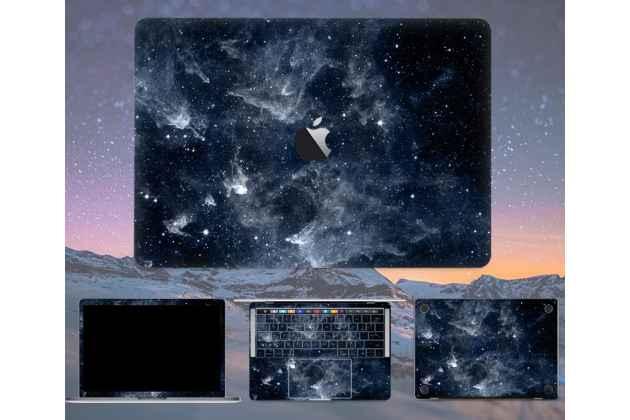 Защитная пленка-наклейка на твёрдой основе, которая не увеличивает ноутбук в размерах для apple macbook air 13 early 2015 ( mjve2 / mjvg2) 13.3