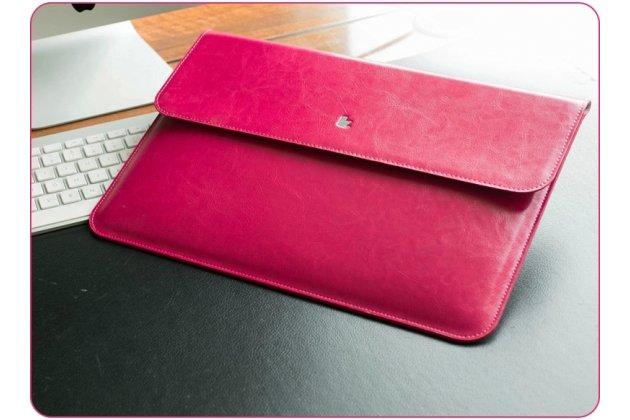 Чехол-клатч-сумка с визитницей для apple macbook air 13 early 2015 ( mjve2 / mjvg2) 13.3 / apple macbook air 13 early 2014( md760 / md761) 13.3 из качественной импортной кожи