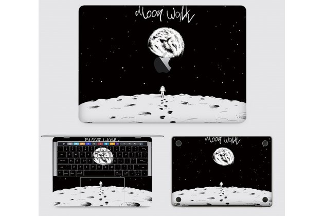 Защитная пленка-наклейка с 3d рисунком на твёрдой основе, которая не увеличивает ноутбук в размерах для apple macbook air 13 early 2015 ( mjve2 / mjvg2) 13.3 / apple macbook air 13 early 2014( md760 / md761) 13.3
