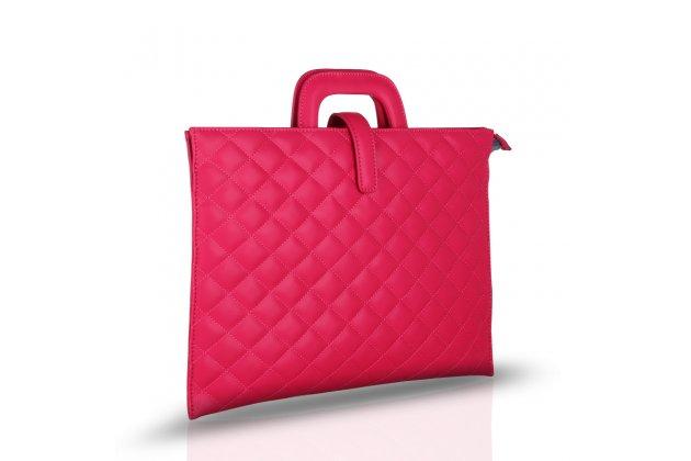 Чехол-клатч-сумка для apple macbook air 13 early 2015 ( mjve2 / mjvg2) 13.3 / apple macbook air 13 early 2014( md760 / md761) 13.3 из качественной стеганной кожи