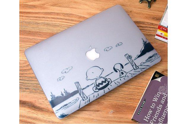 "Ультра-тонкий пластиковый чехол-футляр-кейс для apple macbook 12"" early 2015 / 2016 / mid 2017 ( a1534 / a1527)"