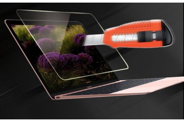 Защитная пленка для ноутбука apple macbook 12 early 2015 / 2016 / mid 2017 ( a1534 / a1527) глянцевая