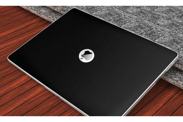 Ультра-тонкий чехол-футляр-кейс  из прочного пластика для apple macbook 12 early 2015 / 2016 / mid 2017 ( a1534 / a1527) с дизайном под кожу