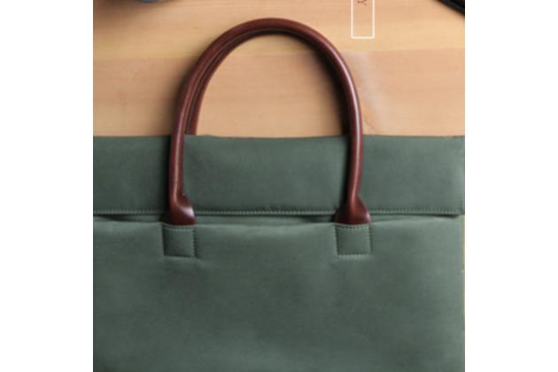 Чехол-сумка с визитницей для apple macbook 12 early 2015 / 2016 / mid 2017 ( a1534 / a1527) из качественной импортной кожи