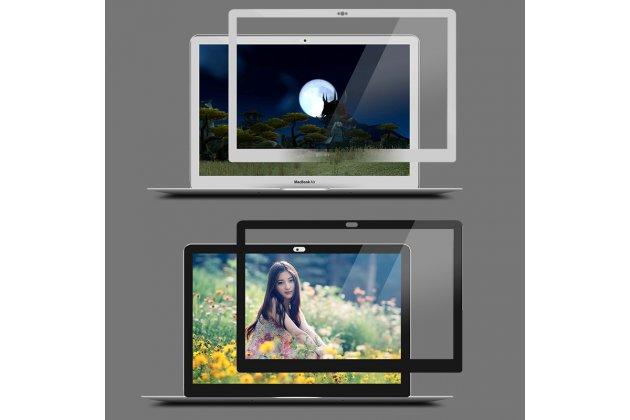 3d защитная пленка с закругленными краями которое полностью закрывает экран для телефона apple macbook air 11 early 2015 (mjvm2/ mjvp2) 11.6 / apple macbook air 11 early 2014 ( md711 / md712) 11.6 глянцевая