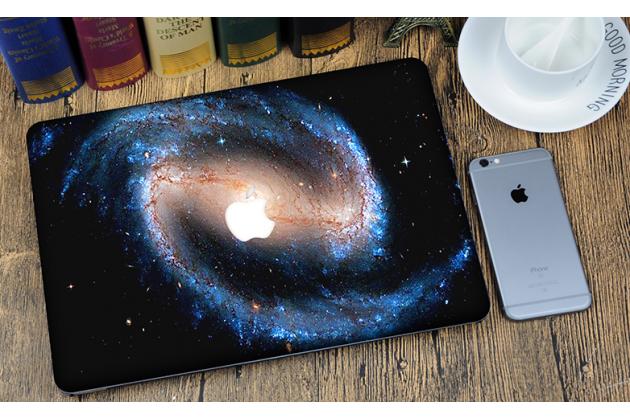 "Ультра-тонкий пластиковый чехол-футляр-кейс для apple macbook air 11 early 2015 (mjvm2/ mjvp2) 11.6 / apple macbook air 11 early 2014 ( md711 / md712) 11.6 ""тематика космос"""
