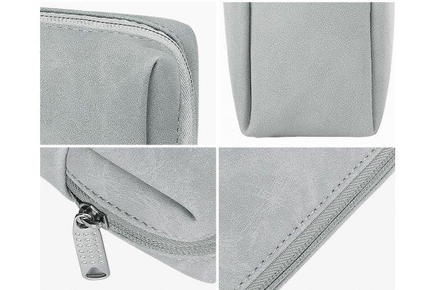 Чехол-клатч-сумка для дополнительных аксессуаров из качественной импортной кожи  для apple macbook air 11 early 2015 (mjvm2/ mjvp2) 11.6 / apple macbook air 11 early 2014 ( md711 / md712) 11.6