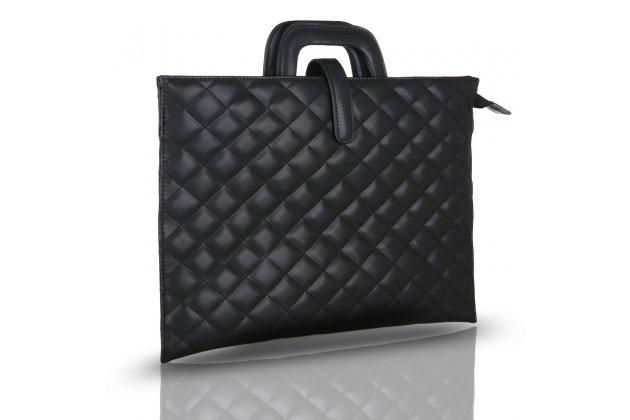 Чехол-клатч-сумка для apple macbook air 11 early 2015 (mjvm2/ mjvp2) 11.6 / apple macbook air 11 early 2014 ( md711 / md712) 11.6 из качественной стеганной кожи