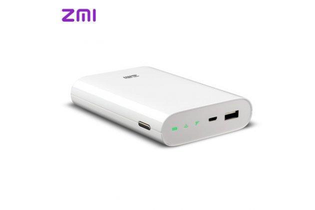 4g/wi-fi-роутер/модем + встроенный power bank 7800mah xiaomi zmi 4g mf855