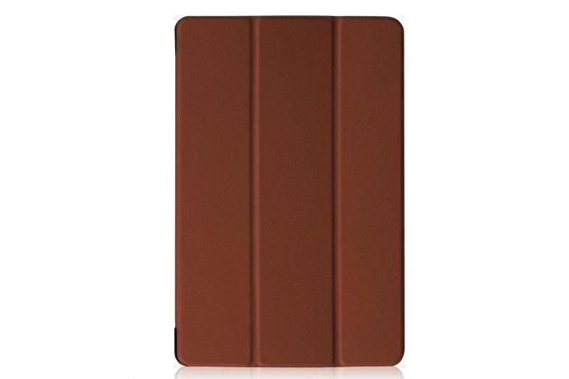 Умный чехол самый тонкий в мире для acer iconia one 10 b3-a30 il sottile коричневый пластиковый италия