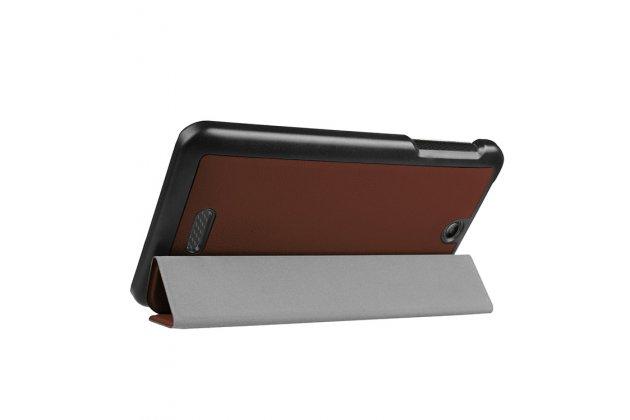 Умный чехол самый тонкий в мире для acer iconia one 7 b1-780 il sottile коричневый пластиковый италия