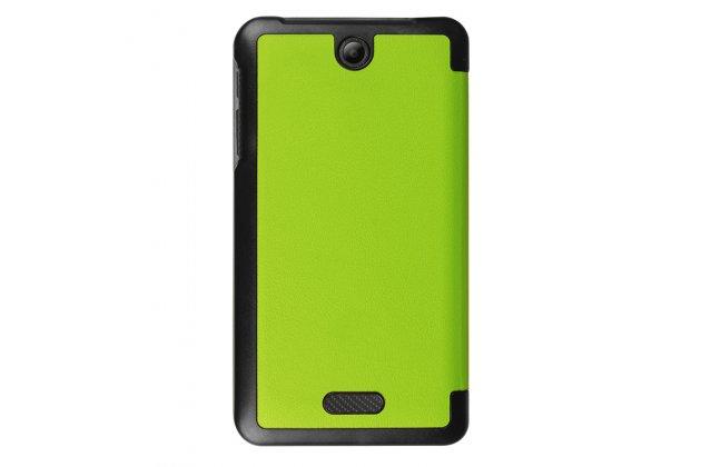 Умный чехол самый тонкий в мире для acer iconia one 7 b1-780 il sottile зеленый пластиковый италия
