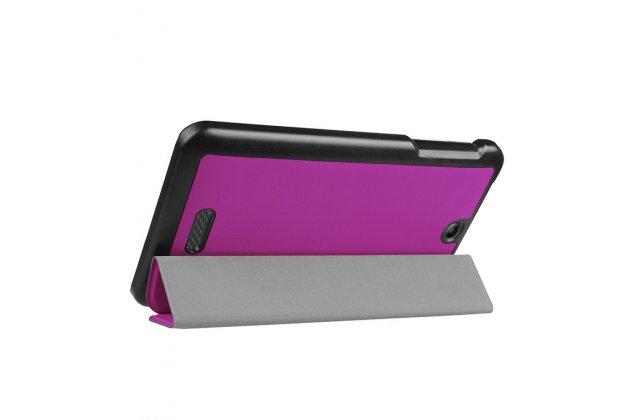 Умный чехол самый тонкий в мире для acer iconia one 7 b1-780 (nt.lcjee.004) il sottile фиолетовый пластиковый италия