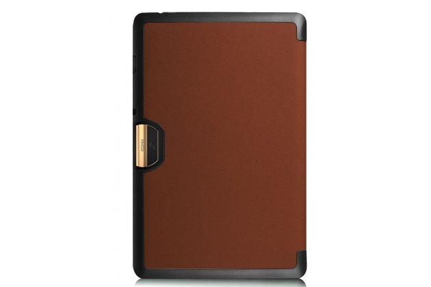 Умный чехол самый тонкий в мире для acer iconia tab 10 a3-a40 2016 il sottile коричневый пластиковый италия