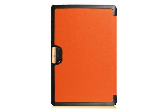 Умный чехол самый тонкий в мире для acer iconia tab 10 a3-a40 2016 il sottile оранжевый пластиковый италия