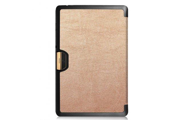 Умный чехол самый тонкий в мире для acer iconia tab 10 a3-a40 2016 il sottile золотой пластиковый италия