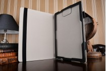 Фирменный оригинальный чехол для ASUS Transformer 3 Pro T303UА (GN052T) 12.6 с отделением под клавиатуру черный кожаный