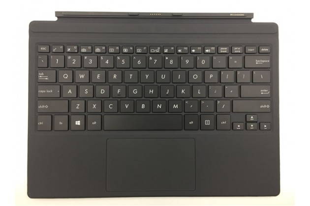 Съемная клавиатура/док-станция для планшета asus transformer 3 t305ca (gw014t) 12.6 черного цвета + гарантия + русские клавиши