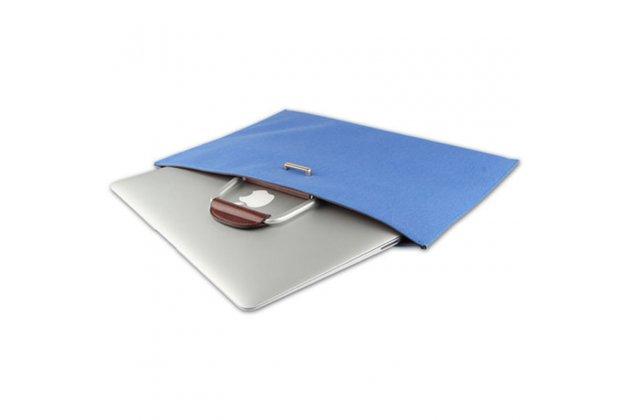 Чехол-сумка-бокс для asus transformer 3 t305ca (gw014t) 12.6 с отделением для дополнительных аксессуаров из высококачественного материала голубого цвета