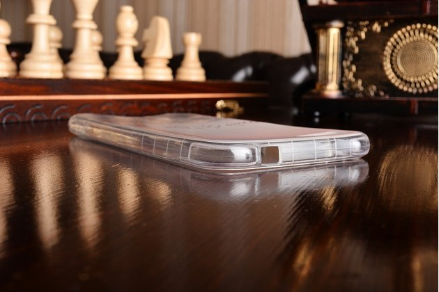 Ультра-тонкая полимерная из мягкого качественного силикона задняя панель-чехол-накладка для asus zenfone 4 max zc554kl 5.5 башня