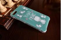 Фирменная ультра-тонкая полимерная из мягкого качественного силикона задняя панель-чехол-накладка для Asus Zenfone 4 Max ZC554KL 5.5 кролик