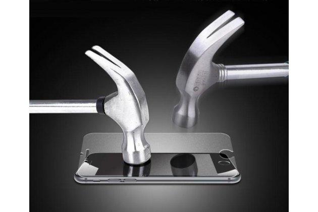 Защитное закалённое противоударное стекло премиум-класса из качественного японского материала с олеофобным покрытием для телефона blackberry aurora