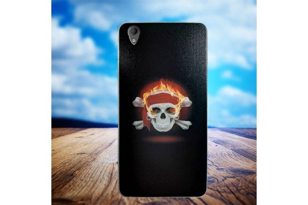 Роскошная задняя панель-чехол-накладка из мягкого силикона с объемным  3d изображением для blackberry neon/ blackberry dtek50 c с безумно красивым рисунком  тематика пираты карибского моря