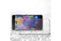 Ультра-тонкая полимерная из мягкого качественного силикона задняя панель-чехол-накладка для blackberry neon/ blackberry dtek50 прозрачная