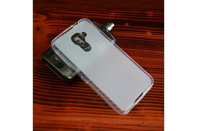 Ультра-тонкая полимерная из мягкого качественного силикона задняя панель-чехол-накладка для blackberry dtek60 белая
