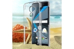 Фирменная задняя панель-крышка-накладка из тончайшего и прочного пластика для Blackberry DTEK60 прозрачная