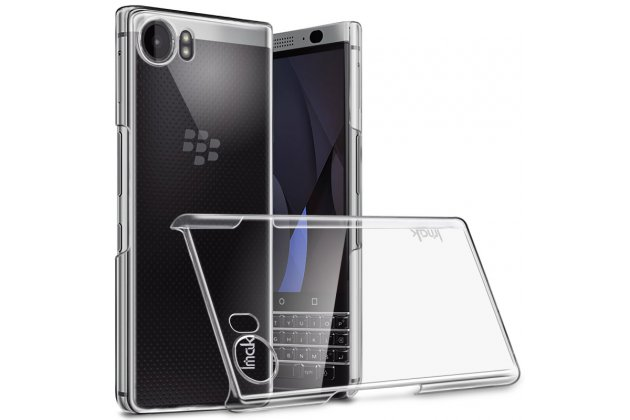 Ультра-тонкая пластиковая задняя панель-чехол-накладка для blackberry keyone/ dtek70 прозрачная