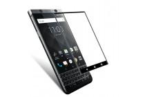 3d защитное изогнутое стекло с закругленными изогнутыми краями которое полностью закрывает экран / дисплей по краям с олеофобным покрытием для blackberry keyone/ dtek70