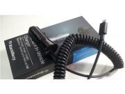 Автомобильное зарядное устройство/ в машину для телефона Blackberry Z10 / BlackBerry Porsche Design P'9982+..