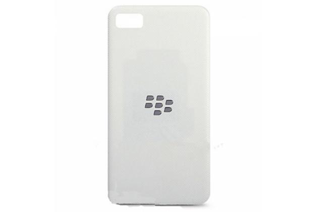 Родная оригинальная задняя крышка-панель которая шла в комплекте для blackberry z10 / blackberry porsche design p'9982 белая