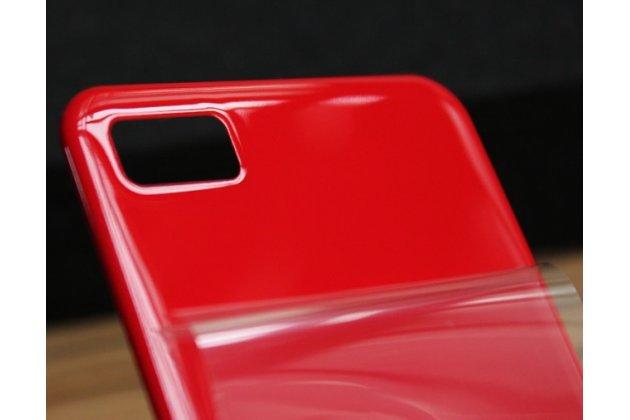 Родная оригинальная задняя крышка-панель которая шла в комплекте для blackberry z10 / blackberry porsche design p'9982 красная