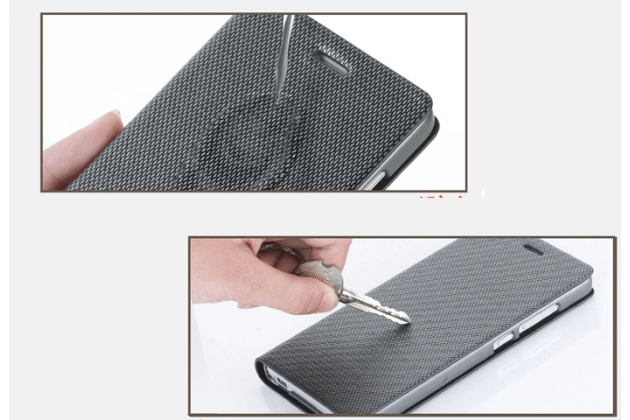 Премиальный чехол книжка бизнес класса для blackberry z30 из натуральной водоотталкивающей рельефной кожи коричневый