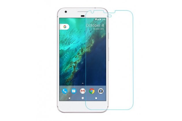 Защитное закалённое противоударное стекло премиум-класса из качественного японского материала с олеофобным покрытием для телефона google pixel/htc google nexus 2016/ htc nexus s1