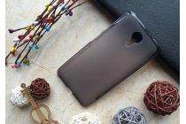 Ультра-тонкая полимерная из мягкого качественного силикона задняя панель-чехол-накладка для wileyfox swift черная