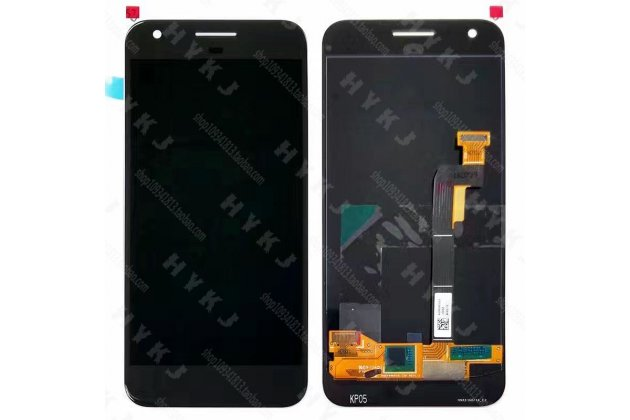 Lcd-жк-сенсорный дисплей-экран-стекло с тачскрином на телефон google pixel/htc google nexus 2016/ htc nexus s1  черный + гарантия