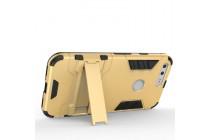 Противоударный усиленный ударопрочный чехол-бампер-пенал для  google pixel/htc google nexus 2016/ htc nexus s1 золотого цвета