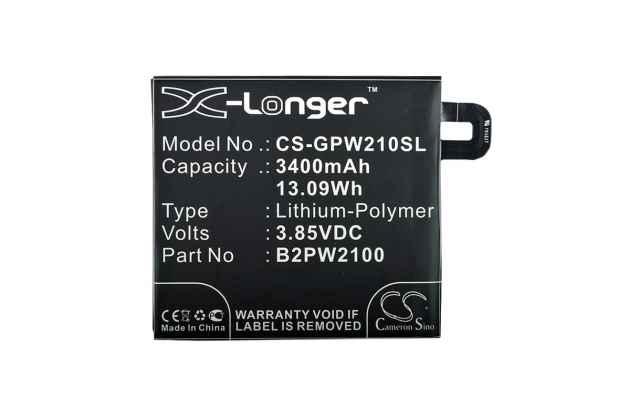 Аккумуляторная батарея 3400mah cs-gpw210sl на телефон google pixel xl/htc google nexus marlin m1 + инструменты для вскрытия + гарантия