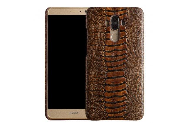 Элегантная экзотическая задняя панель-крышка с фактурной отделкой натуральной кожи страуса кофейного цвета для  google pixel xl/htc google nexus marlin m1 . только в нашем магазине. количество ограничено.