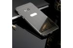 Фирменная металлическая задняя панель-крышка-накладка из тончайшего облегченного авиационного алюминия для HTC U Play чёрная.