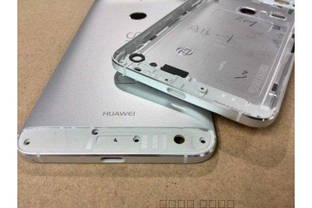Родная задняя крышка-панель которая шла в комплекте для huawei google nexus 6p серебристая