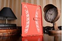 Противоударный усиленный ударопрочный чехол-бампер-пенал для ipad pro 10.5 красный