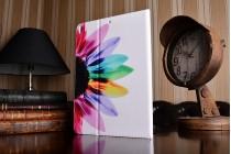 Уникальный необычный чехол-книжка для ipad pro 10.5  тематика цветик семицветик