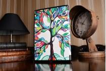 Необычный чехол для ipad pro 10.5 тематика книга сказочное дерево
