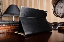 дорогой качественный элитный премиальный чехол для планшета ipad pro 10.5 из качественной импортной кожи готический стиль