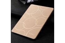 Чехол-футляр для планшета iPad Pro 10.5 кожаный золотой